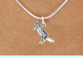 """<bR>               EXCLUSIVELY OURS!!<BR>         AN ALLAN ROBIN DESIGN!!<BR>CLICK HERE TO SEE 600+ EXCITING<BR>   CHANGES THAT YOU CAN MAKE!<BR>              LEAD & NICKEL FREE!!<BR>            W1005SN - """"CARDINAL""""<Br>  NECKLACE FROM $4.50 TO $8.35"""