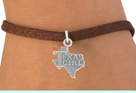 """<bR>               EXCLUSIVELY OURS!!<BR>         AN ALLAN ROBIN DESIGN!!<BR>CLICK HERE TO SEE 600+ EXCITING<BR>   CHANGES THAT YOU CAN MAKE!<BR>              LEAD & NICKEL FREE!!<BR>            W1007SB """"TEXAS GIRL"""" <Br>   & BRACELET FROM $4.15 TO $8.00"""