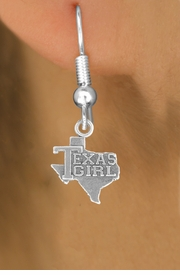 "<bR>               EXCLUSIVELY OURS!!<BR>         AN ALLAN ROBIN DESIGN!!<BR>CLICK HERE TO SEE 600+ EXCITING<BR>   CHANGES THAT YOU CAN MAKE!<BR>              LEAD & NICKEL FREE!!<BR>          W1007SE - ""TEXAS GIRL""<Br>  EARRINGS FROM $4.50 TO $8.35"