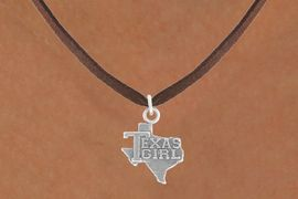 "<bR>               EXCLUSIVELY OURS!!<BR>         AN ALLAN ROBIN DESIGN!!<BR>CLICK HERE TO SEE 600+ EXCITING<BR>   CHANGES THAT YOU CAN MAKE!<BR>              LEAD & NICKEL FREE!!<BR>          W1007SN - ""TEXAS GIRL""<Br>  NECKLACE FROM $4.50 TO $8.35"