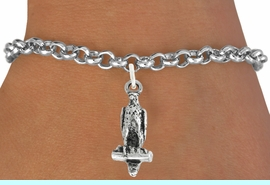 """<bR>               EXCLUSIVELY OURS!!<BR>         AN ALLAN ROBIN DESIGN!!<BR>CLICK HERE TO SEE 600+ EXCITING<BR>   CHANGES THAT YOU CAN MAKE!<BR>              LEAD & NICKEL FREE!!<BR>                W1009SB """"FALCON"""" <Br>   & BRACELET FROM $4.15 TO $8.00"""