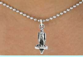 """<bR>               EXCLUSIVELY OURS!!<BR>         AN ALLAN ROBIN DESIGN!!<BR>CLICK HERE TO SEE 600+ EXCITING<BR>   CHANGES THAT YOU CAN MAKE!<BR>              LEAD & NICKEL FREE!!<BR>              W1009SN - """"FALCON""""<Br>  NECKLACE FROM $4.50 TO $8.35"""