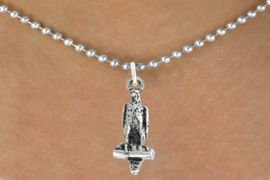 "<bR>               EXCLUSIVELY OURS!!<BR>         AN ALLAN ROBIN DESIGN!!<BR>CLICK HERE TO SEE 600+ EXCITING<BR>   CHANGES THAT YOU CAN MAKE!<BR>              LEAD & NICKEL FREE!!<BR>              W1009SN - ""FALCON""<Br>  NECKLACE FROM $4.50 TO $8.35"