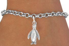 """<bR>               EXCLUSIVELY OURS!!<BR>         AN ALLAN ROBIN DESIGN!!<BR>CLICK HERE TO SEE 600+ EXCITING<BR>   CHANGES THAT YOU CAN MAKE!<BR>              LEAD & NICKEL FREE!!<BR>             W1013SB - """"PENGUIN"""" <Br>   & BRACELET FROM $4.15 TO $8.00"""