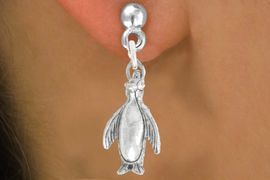 "<bR>               EXCLUSIVELY OURS!!<BR>         AN ALLAN ROBIN DESIGN!!<BR>CLICK HERE TO SEE 600+ EXCITING<BR>   CHANGES THAT YOU CAN MAKE!<BR>              LEAD & NICKEL FREE!!<BR>              W1013SE - ""PENGUIN""<Br>  EARRINGS FROM $4.50 TO $8.35"