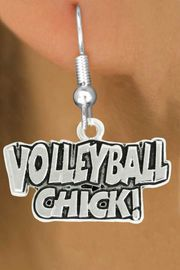 """<bR>               EXCLUSIVELY OURS!!<BR>         AN ALLAN ROBIN DESIGN!!<BR>CLICK HERE TO SEE 600+ EXCITING<BR>   CHANGES THAT YOU CAN MAKE!<BR>              LEAD & NICKEL FREE!!<BR>  W1024SE - """"VOLLEYBALL CHICK""""<Br>  EARRINGS FROM $4.50 TO $8.35<BR>                                 �2010"""