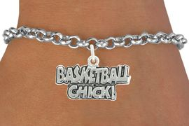 """<bR>               EXCLUSIVELY OURS!!<BR>         AN ALLAN ROBIN DESIGN!!<BR>CLICK HERE TO SEE 600+ EXCITING<BR>   CHANGES THAT YOU CAN MAKE!<BR>              LEAD & NICKEL FREE!!<BR>  W1025SB - """"BASKETBALL CHICK"""" <Br>   & BRACELET FROM $4.15 TO $8.00<BR>                                �2010"""