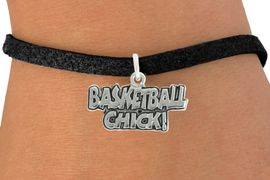 """<bR>               EXCLUSIVELY OURS!!<BR>         AN ALLAN ROBIN DESIGN!!<BR>CLICK HERE TO SEE 600+ EXCITING<BR>   CHANGES THAT YOU CAN MAKE!<BR>              LEAD & NICKEL FREE!!<BR>  W1025SB - """"BASKETBALL CHICK"""" <Br>   & BRACELET FROM $4.15 TO $8.00"""