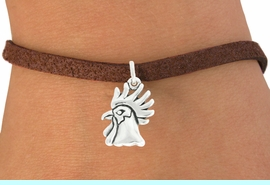 """<bR>               EXCLUSIVELY OURS!!<BR>         AN ALLAN ROBIN DESIGN!!<BR>CLICK HERE TO SEE 600+ EXCITING<BR>   CHANGES THAT YOU CAN MAKE!<BR>              LEAD & NICKEL FREE!!<BR>             W1037SB - """"ROOSTER"""" <Br>   & BRACELET FROM $4.15 TO $8.00"""
