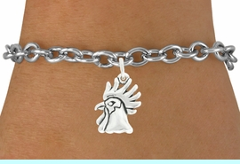 """<bR>               EXCLUSIVELY OURS!!<BR>         AN ALLAN ROBIN DESIGN!!<BR>CLICK HERE TO SEE 600+ EXCITING<BR>   CHANGES THAT YOU CAN MAKE!<BR>              LEAD & NICKEL FREE!!<BR>             W1037SB - """"ROOSTER"""" <Br>   & BRACELET FROM $4.50 TO $8.35"""