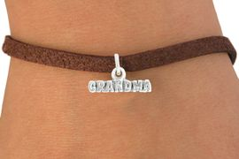 "<bR>               EXCLUSIVELY OURS!!<BR>         AN ALLAN ROBIN DESIGN!!<BR>CLICK HERE TO SEE 600+ EXCITING<BR>   CHANGES THAT YOU CAN MAKE!<BR>              LEAD & NICKEL FREE!!<BR>           W1044SB - ""GRANDMA"" <Br>   & BRACELET FROM $4.15 TO $8.00"