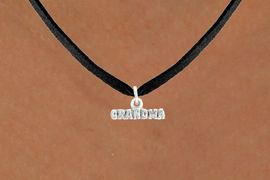"<bR>               EXCLUSIVELY OURS!!<BR>         AN ALLAN ROBIN DESIGN!!<BR>CLICK HERE TO SEE 600+ EXCITING<BR>   CHANGES THAT YOU CAN MAKE!<BR>              LEAD & NICKEL FREE!!<BR>           W1044SN - ""GRANDMA""<Br>  NECKLACE FROM $4.50 TO $8.35"