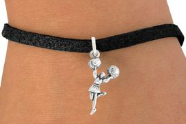 "<bR>                    EXCLUSIVELY OURS!!<BR>              AN ALLAN ROBIN DESIGN!!<BR>     CLICK HERE TO SEE 600+ EXCITING<BR>        CHANGES THAT YOU CAN MAKE!<BR>                   LEAD & NICKEL FREE!!<BR>             W1054SB - ""CHEERLEADER""<Br>BRACELET FROM $4.15 TO $8.00 �2011"