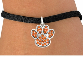 <bR>                                 EXCLUSIVELY OURS!!<BR>                           AN ALLAN ROBIN DESIGN!!<BR>                  CLICK HERE TO SEE 600+ EXCITING<BR>                     CHANGES THAT YOU CAN MAKE!<BR>                                LEAD & NICKEL FREE!!<BR>                 W1061SB - ORANGE PAW BRACELET<br>                         FROM $5.15 TO $9.00 &#169;2011