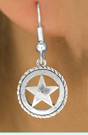 <bR>                    EXCLUSIVELY OURS!!<BR>              AN ALLAN ROBIN DESIGN!!<BR>     CLICK HERE TO SEE 600+ EXCITING<BR>        CHANGES THAT YOU CAN MAKE!<BR>                   LEAD & NICKEL FREE!!<BR>             W1065SE - WESTERN STAR<Br>EARRINGS FROM $4.50 TO $8.35 �2011