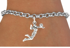 <bR>                                 EXCLUSIVELY OURS!!<BR>                           AN ALLAN ROBIN DESIGN!!<BR>                  CLICK HERE TO SEE 600+ EXCITING<BR>                     CHANGES THAT YOU CAN MAKE!<BR>                                LEAD & NICKEL FREE!!<BR>             W1069SB - GIRL SPIKING VOLLEYBALL<Br>             BRACELET FROM $4.15 TO $8.00 &#169;2011