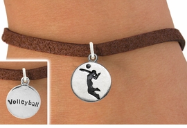 <bR>                                EXCLUSIVELY OURS!!<BR>                          AN ALLAN ROBIN DESIGN!!<BR>                 CLICK HERE TO SEE 600+ EXCITING<BR>                    CHANGES THAT YOU CAN MAKE!<BR>                               LEAD & NICKEL FREE!!<BR>         W1070SB - 2 SIDED SPIKING / VOLLEYBALL<Br>             BRACELET FROM $4.15 TO $8.00 �2011