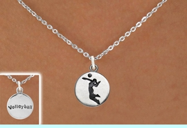 <bR>                                EXCLUSIVELY OURS!!<BR>                          AN ALLAN ROBIN DESIGN!!<BR>                 CLICK HERE TO SEE 2000+ EXCITING<BR>                    CHANGES THAT YOU CAN MAKE!<BR>                               LEAD & NICKEL FREE!!<BR>         W1070SN - 2 SIDED SPIKING / VOLLEYBALL<Br>             NECKLACE FROM $4.50 TO $8.35 �2011