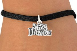 "<bR>                                 EXCLUSIVELY OURS!!<BR>                           AN ALLAN ROBIN DESIGN!!<BR>                  CLICK HERE TO SEE 600+ EXCITING<BR>                     CHANGES THAT YOU CAN MAKE!<BR>                                LEAD & NICKEL FREE!!<BR>                        W1071SB - ""5, 6, 7, 8, DANCE""<Br>             BRACELET FROM $4.15 TO $8.00 &#169;2011"