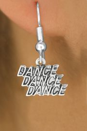 "<bR>                             EXCLUSIVELY OURS!!<BR>                       AN ALLAN ROBIN DESIGN!!<BR>              CLICK HERE TO SEE 600+ EXCITING<BR>                 CHANGES THAT YOU CAN MAKE!<BR>                            LEAD & NICKEL FREE!!<BR>              W1072SE - ""DANCE, DANCE, DANCE""<Br>                    EARRINGS $9.68 EACH �2011"