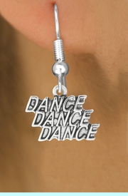 """<bR>                             EXCLUSIVELY OURS!!<BR>                       AN ALLAN ROBIN DESIGN!!<BR>              CLICK HERE TO SEE 600+ EXCITING<BR>                 CHANGES THAT YOU CAN MAKE!<BR>                            LEAD & NICKEL FREE!!<BR>              W1072SE - """"DANCE, DANCE, DANCE""""<Br>                    EARRINGS $9.68 EACH �2011"""