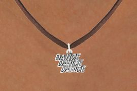 """<bR>                            EXCLUSIVELY OURS!!<BR>                      AN ALLAN ROBIN DESIGN!!<BR>             CLICK HERE TO SEE 600+ EXCITING<BR>                CHANGES THAT YOU CAN MAKE!<BR>                           LEAD & NICKEL FREE!!<BR>           W1072SN - """"DANCE, DANCE, DANCE""""<Br>        NECKLACE FROM $4.50 TO $8.35 �2011"""