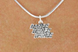 "<bR>                            EXCLUSIVELY OURS!!<BR>                      AN ALLAN ROBIN DESIGN!!<BR>             CLICK HERE TO SEE 600+ EXCITING<BR>                CHANGES THAT YOU CAN MAKE!<BR>                           LEAD & NICKEL FREE!!<BR>           W1072SN - ""DANCE, DANCE, DANCE""<Br>        NECKLACE FROM $4.50 TO $8.35 �2011"