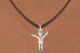"<bR>                  EXCLUSIVELY OURS!!<BR>            AN ALLAN ROBIN DESIGN!!<BR>   CLICK HERE TO SEE 600+ EXCITING<BR>      CHANGES THAT YOU CAN MAKE!<BR>                 LEAD & NICKEL FREE!!<BR>   W1074SN - ""LITTLE GIRL GYMNAST""<Br>     NECKLACE FROM $4.50 TO $8.35"