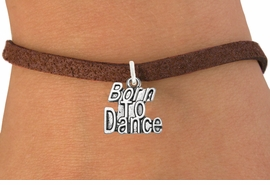 "<bR>                              EXCLUSIVELY OURS!!<BR>                        AN ALLAN ROBIN DESIGN!!<BR>               CLICK HERE TO SEE 600+ EXCITING<BR>                  CHANGES THAT YOU CAN MAKE!<BR>                             LEAD & NICKEL FREE!!<BR>             W1094SB - ""BORN TO DANCE"" CHARM<Br>         & BRACELET FROM $4.15 TO $8.00 &#169;2011"