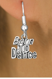 "<bR>                             EXCLUSIVELY OURS!!<BR>                       AN ALLAN ROBIN DESIGN!!<BR>              CLICK HERE TO SEE 600+ EXCITING<BR>                 CHANGES THAT YOU CAN MAKE!<BR>                            LEAD & NICKEL FREE!!<BR>           W1094SE - ""BORN TO DANCE"" CHARM<Br>          EARRINGS FROM $4.50 TO $8.35 �2011"
