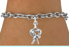 """<bR>                              EXCLUSIVELY OURS!!<BR>                        AN ALLAN ROBIN DESIGN!!<BR>               CLICK HERE TO SEE 600+ EXCITING<BR>                  CHANGES THAT YOU CAN MAKE!<BR>                             LEAD & NICKEL FREE!!<BR>               W1095SB - """"I LOVE CHEER"""" CHARM<Br>         & BRACELET FROM $4.15 TO $8.00 &#169;2011"""