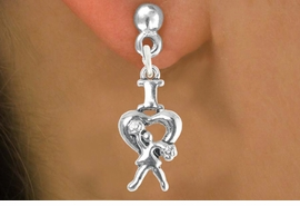 "<bR>                             EXCLUSIVELY OURS!!<BR>                       AN ALLAN ROBIN DESIGN!!<BR>              CLICK HERE TO SEE 600+ EXCITING<BR>                 CHANGES THAT YOU CAN MAKE!<BR>                            LEAD & NICKEL FREE!!<BR>              W1095SE - ""I LOVE CHEER"" CHARM<Br>          EARRINGS FROM $4.50 TO $8.35 �2012"