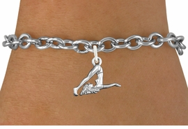 <bR>                      EXCLUSIVELY OURS!!<BR>                AN ALLAN ROBIN DESIGN!!<BR>       CLICK HERE TO SEE 600+ EXCITING<BR>          CHANGES THAT YOU CAN MAKE!<BR>                     LEAD & NICKEL FREE!!<BR>   W1104SB - GYMNASTIC TUMBLER CHARM<Br>   & BRACELET FROM $4.15 TO $8.00 �2011