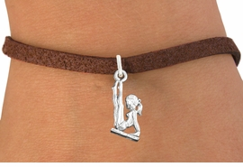 <bR>                      EXCLUSIVELY OURS!!<BR>                AN ALLAN ROBIN DESIGN!!<BR>       CLICK HERE TO SEE 600+ EXCITING<BR>          CHANGES THAT YOU CAN MAKE!<BR>                     LEAD & NICKEL FREE!!<BR>   W1105SB - GYMNAST ON BALANCE BEAM<Br>CHARM & BRACELET FROM $4.15 TO $8.00 �2011