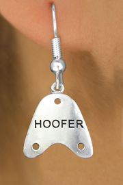 """<bR>                   EXCLUSIVELY OURS!!<BR>             AN ALLAN ROBIN DESIGN!!<BR>    CLICK HERE TO SEE 600+ EXCITING<BR>       CHANGES THAT YOU CAN MAKE!<BR>                  LEAD & NICKEL FREE!!<BR>     W1109SE - """"HOOFER"""" CHARM<Br>EARRINGS FROM $4.50 TO $8.35 �2011"""