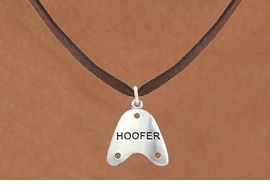 "<bR>                      EXCLUSIVELY OURS!!<BR>                AN ALLAN ROBIN DESIGN!!<BR>       CLICK HERE TO SEE 600+ EXCITING<BR>          CHANGES THAT YOU CAN MAKE!<BR>                     LEAD & NICKEL FREE!!<BR>     W1109SN - ""HOOFER"" CHARM & <Br>    NECKLACE FROM $4.50 TO $8.35 �2011"