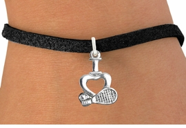 "<bR>                      EXCLUSIVELY OURS!!<BR>                AN ALLAN ROBIN DESIGN!!<BR>       CLICK HERE TO SEE 600+ EXCITING<BR>          CHANGES THAT YOU CAN MAKE!<BR>                     LEAD & NICKEL FREE!!<BR>       W1115SB - ""I LOVE TENNIS"" CHARM & <Br>     BRACELET FROM $4.15 TO $8.00 �2011"