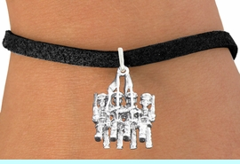 <bR>                       EXCLUSIVELY OURS!!<BR>                 AN ALLAN ROBIN DESIGN!!<BR>        CLICK HERE TO SEE 600+ EXCITING<BR>           CHANGES THAT YOU CAN MAKE!<BR>                     LEAD & NICKEL FREE!!<BR>W1138SB - COLOR GUARD WITH FLAGS CHARM  <Br>& BRACELET FROM $4.15 TO $8.00 �2011