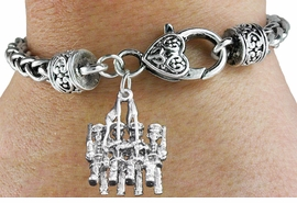<bR>                       EXCLUSIVELY OURS!!<BR>                 AN ALLAN ROBIN DESIGN!!<BR>        CLICK HERE TO SEE 600+ EXCITING<BR>           CHANGES THAT YOU CAN MAKE!<BR>                     LEAD & NICKEL FREE!!<BR>W1138SB - COLOR GUARD WITH FLAGS CHARM  &<Br> HEART CLASP BRACELET FROM $3.94 TO $8.75 �2011