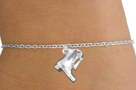 <bR>               EXCLUSIVELY OURS!!<BR>         AN ALLAN ROBIN DESIGN!!<BR>CLICK HERE TO SEE 600+ EXCITING<BR>   CHANGES THAT YOU CAN MAKE!<BR>             LEAD & NICKEL FREE!!<BR>W1139SB - DRILL TEAM BOOT <Br> CHARM & CHILDRENS BRACELET <BR>     FROM $4.15 TO $8.00 �2011