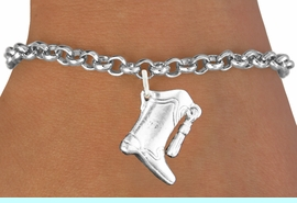 <bR>                       EXCLUSIVELY OURS!!<BR>                 AN ALLAN ROBIN DESIGN!!<BR>        CLICK HERE TO SEE 600+ EXCITING<BR>           CHANGES THAT YOU CAN MAKE!<BR>                     LEAD & NICKEL FREE!!<BR>W1182SB - DRILL TEAM HIGH BOOT CHARM  <Br>          & BRACELET $9.68 EACH  �2012