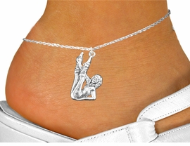 <bR>                 EXCLUSIVELY OURS!!<BR>           AN ALLAN ROBIN DESIGN!!<BR>  CLICK HERE TO SEE 600+ EXCITING<BR>     CHANGES THAT YOU CAN MAKE!<BR>              LEAD & NICKEL FREE!!<BR>W1183SAK - AEROBIC EXERCISE  CHARM  <Br>& ANKLET FROM $3.35 TO $8.00 �2012