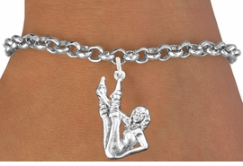 <bR>                       EXCLUSIVELY OURS!!<BR>                 AN ALLAN ROBIN DESIGN!!<BR>        CLICK HERE TO SEE 600+ EXCITING<BR>           CHANGES THAT YOU CAN MAKE!<BR>                     LEAD & NICKEL FREE!!<BR>W1183SB - AEROBIC EXERCISE CHARM  <Br>& BRACELET FROM $4.15 TO $8.00 �2012