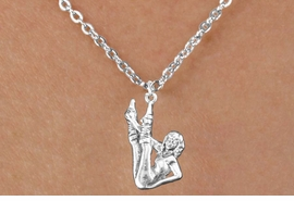 <bR>                  EXCLUSIVELY OURS!!<BR>            AN ALLAN ROBIN DESIGN!!<BR>   CLICK HERE TO SEE 600+ EXCITING<BR>      CHANGES THAT YOU CAN MAKE!<BR>                 LEAD & NICKEL FREE!!<BR>W1183SN - AEROBIC EXERCISE CHARM <Br>& CHILDRENS NECKLACE FROM $4.50 TO $8.35 �2012