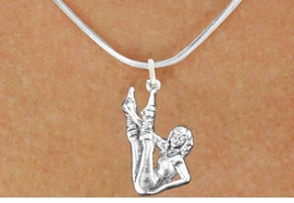 <bR>                  EXCLUSIVELY OURS!!<BR>            AN ALLAN ROBIN DESIGN!!<BR>   CLICK HERE TO SEE 600+ EXCITING<BR>      CHANGES THAT YOU CAN MAKE!<BR>                 LEAD & NICKEL FREE!!<BR>W1183SN - AEROBIC EXERCISE CHARM <Br>& NECKLACE FROM $4.50 TO $8.35 �2012