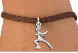 <bR>               EXCLUSIVELY OURS!!<BR>         AN ALLAN ROBIN DESIGN!!<BR>CLICK HERE TO SEE 600+ EXCITING<BR>   CHANGES THAT YOU CAN MAKE!<BR>             LEAD & NICKEL FREE!!<BR>  W1268SB - DETAILED ICE SKATER <BR>           CHARM  AND BRACELET <BR>     FROM $4.15 TO $8.00 �2012