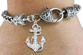 <bR>                   EXCLUSIVELY OURS!!<BR>             AN ALLAN ROBIN DESIGN!!<BR>    CLICK HERE TO SEE 600+ EXCITING<BR>       CHANGES THAT YOU CAN MAKE!<BR>                 LEAD & NICKEL FREE!!<BR>    W1278SB - DETAILED ANCHOR <BR>   CHARM & HEART CLASP BRACELET <BR>                     $10.38 EACH �2012