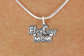 "<bR>               EXCLUSIVELY OURS!!<BR>         AN ALLAN ROBIN DESIGN!!<BR>CLICK HERE TO SEE 600+ EXCITING<BR>   CHANGES THAT YOU CAN MAKE!<BR>              LEAD & NICKEL FREE!! <BR>W1292SN -  ""FLAG CORP MOM"" <Br>SILVER TONE CHARM & NECKLACE <BR>      FROM $4.50 TO $8.35 �2012"