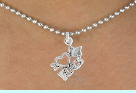 """<bR>               EXCLUSIVELY OURS!!<BR>         AN ALLAN ROBIN DESIGN!!<BR>CLICK HERE TO SEE 600+ EXCITING<BR>   CHANGES THAT YOU CAN MAKE!<BR>              LEAD & NICKEL FREE!!<BR>        W903SN - """"I LOVE FLAGS""""<Br>  NECKLACE FROM $4.50 TO $8.35"""