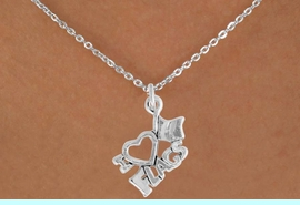 """<bR>               EXCLUSIVELY OURS!!<BR>         AN ALLAN ROBIN DESIGN!!<BR>CLICK HERE TO SEE 600+ EXCITING<BR>   CHANGES THAT YOU CAN MAKE!<BR>              LEAD & NICKEL FREE!!<BR>        W903SN - """"I LOVE FLAGS""""<Br>    NECKLACE $9.68 EACH �2015"""